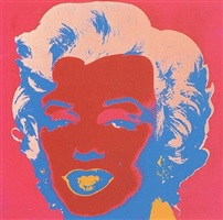 marilyn monroe (marilyn) [ii.22] by andy warhol